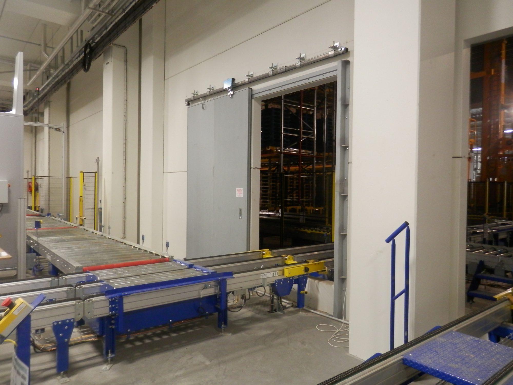 Porte coupe feu 2 heures coulissantes somaferm for Installation d une porte coulissante