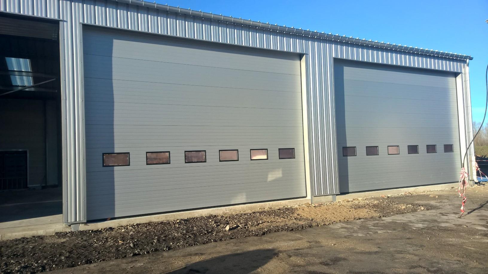Portes sectionnelles somaferm - Porte garage grande dimension ...